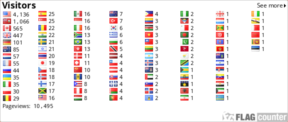 http://s08.flagcounter.com/count/EraN/bg=FFFFFF/txt=000000/border=CCCCCC/columns=8/maxflags=248/viewers=0/labels=0/pageviews=1/