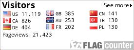 http://s08.flagcounter.com/count/YQ3/bg=FFFFFF/txt=000000/border=CCCCCC/columns=3/maxflags=9/viewers=0/labels=1/pageviews=1/