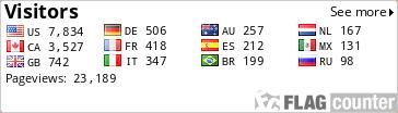 http://s08.flagcounter.com/count/yBY/bg=FFFFFF/txt=000000/border=CCCCCC/columns=4/maxflags=12/viewers=0/labels=1/pageviews=1/